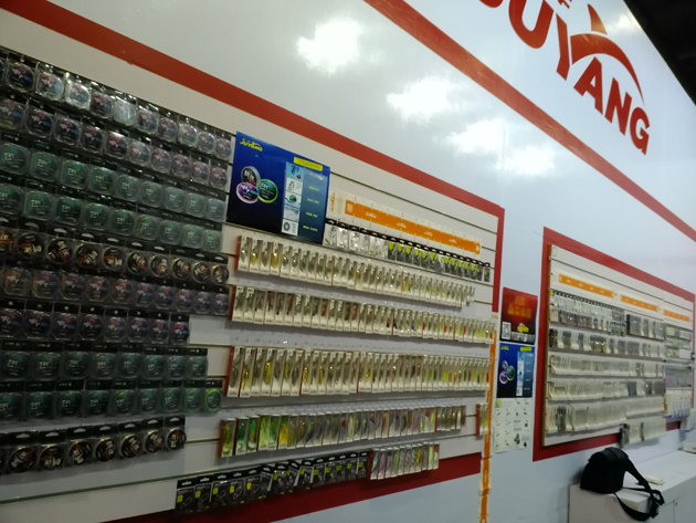Spend the summer 2015 giant foreign suzhou fishing tackle exhibition a success